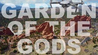 4K Drone Footage Garden of the Gods Colorado Springs with DJI Mavic Pro