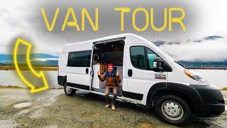 Full-Time YouTuber's Pro-Built Custom Van For Mountain Biking