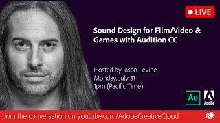 Sound Design for Film/Video & Games with Audition CC| Adobe Creative Cloud