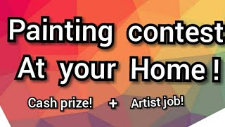 Rules of the painting contest