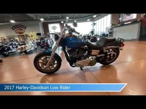 2017 Harley-Davidson<sup>®</sup> Low Rider<sup>®</sup> CUSTOM BLUE