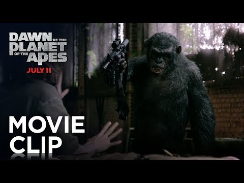 Dawn of the Planet of the Apes (Clip 'Koba's Weapon')