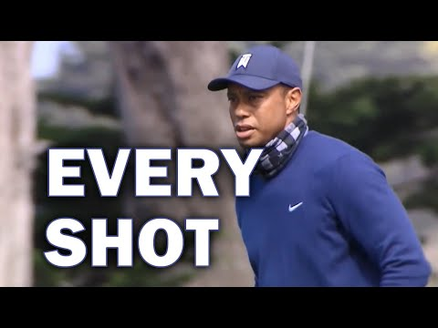 Tiger Woods Opening Round at the 2020 PGA Championship | Every Shot