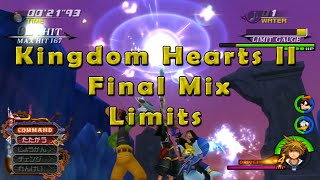 Kingdom Hearts HD 2.5 - Limits