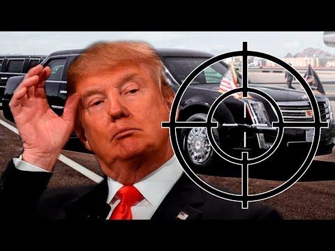 Прямое попадание из БАЗУКИ, а лимузину пофиг! Автомобили Трампа - ненормальные авто!