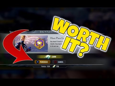 DAUNTLESS - Should you BUY the HUNT PASS? - Ventus SGN Plays