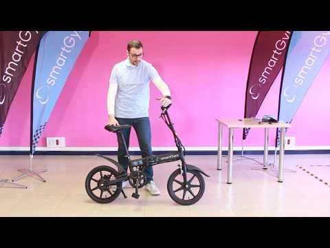Bicicleta eléctrica Blanca SmartGyro