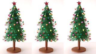Paper Christmas Tree | DIY | How To Make A 3D Christmas Tree | Christmas Craft | Christmas Tree