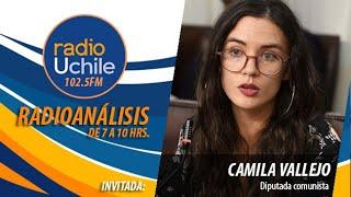 Camila Vallejo hace un llamado al Senado a aprobar proyecto de indulto a los presos del estallido
