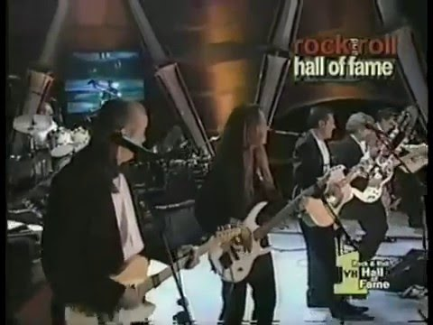 Eagles Hotel California Live at 1998 Hall of Fame Induction