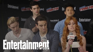 Shadowhunters' Cast Talks Series, Jace & Clary's Relationship & The Book | Entertainment Weekly