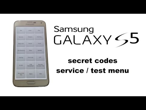 Samsung GALAXY S5 / S5 Mini / S5 Duos - Service / Hidden / Test /  Diagnostic Menu, Secret Codes