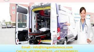 Get Immediate Ambulance Service in Muzaffarpur and Purnia by King