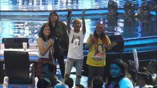 Adu Yel-yel Dua Kubu Pendukung Finalis Indonesian Idol 2018 di Depan Panggung