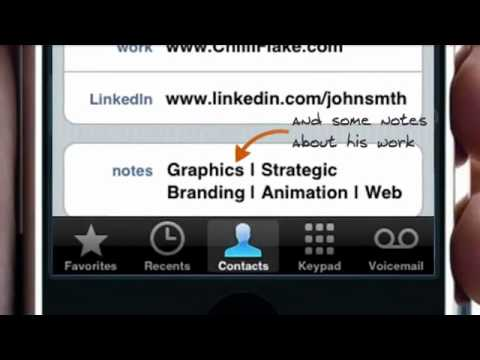Video of Contacts Transfer Backup Sync