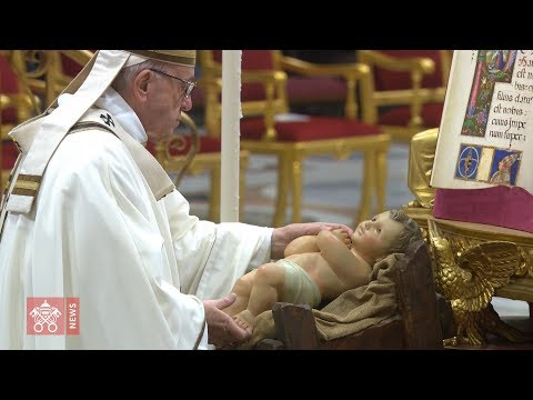 Pave Frans' brev om julekrybben