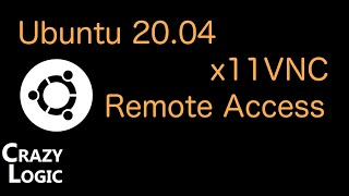 #34 - How to install x11vnc vnc server on ubuntu 20.04, for remote access or screen sharing.