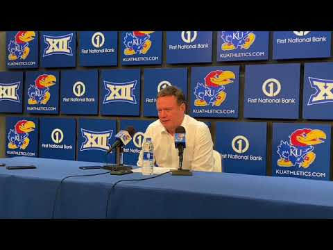 Bill Self after win over Pittsburg State