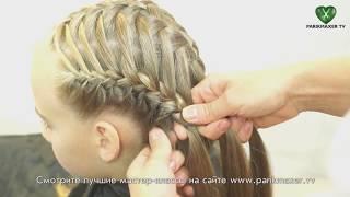 Детское плетение Cute girls braiding. parikmaxer tv парикмахер тв