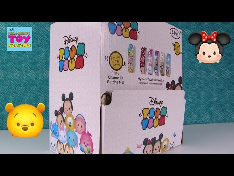 Disney Tsum Tsum LED Watches Blind Bag Opening Toy Review | PSToyReviews