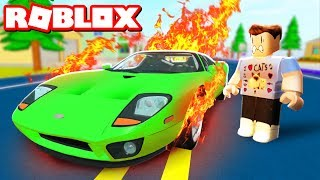 DESTROYING MY $1,000,000,000 CAR IN ROBLOX