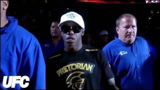 Кража кепок у бойцов UFC!!!