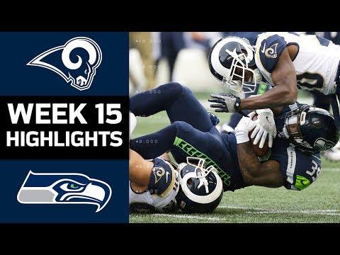 Rams vs. Seahawks | NFL Week 15 Game Highlights