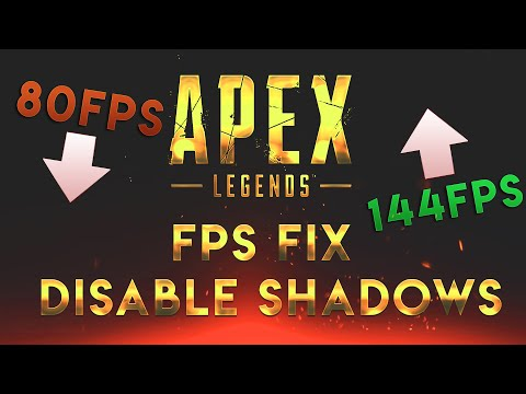 APEX LEGENDS FPS FIX | HOW TO DISABLE SHADOWS AND PARTICLES!