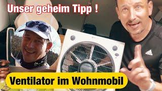 ✅der geheim Tipp‼#Ventilator für die Dachhaube jedes Wohnmobil Camper