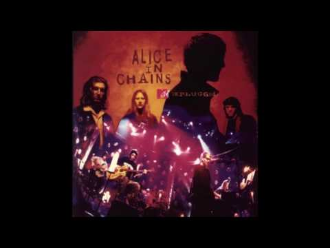Alice In Chains (unplugged)- Sludge Factory w/Lyrics(on screen)