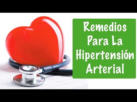 Presion arterial remedios naturales