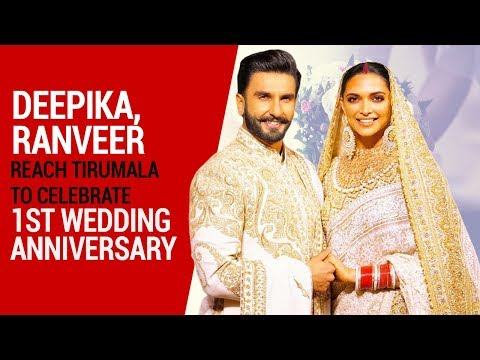 Deepika, Ranveer reach Tirumala to celebrate 1st wedding anniversary
