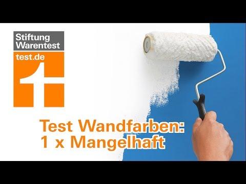 Test Wandfarben: Besser konservierungsmittelfrei