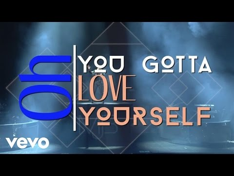 Love Yourself Lyric Video [Feat. Kanye West]