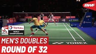 R32 | MD | GIDEON/SUKAMULJO (INA) [1] vs. CHOI/SEO (KOR) | BWF 2019