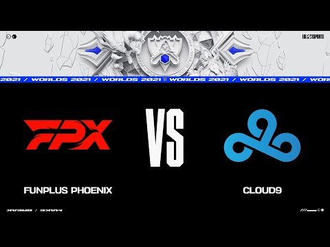 FPX vs. C9 | Worlds Group Stage Day 4 | FunPlus Phoenix vs. Cloud9 (2021)