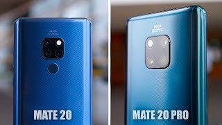 Huawei Mate 20 Pro and Huawei Mate 20: Top 5 Features!