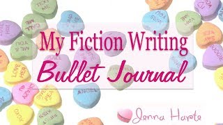 Writer Bullet Journal Flip Through
