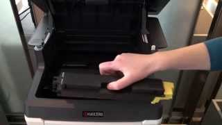 Replacing Toner: ECOSYS M6526cidn  M6026cidn  M6526cdn