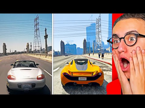 Reacting To GTA 5 Vs. REAL LIFE! #2