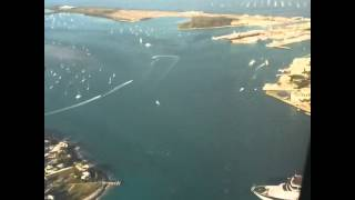 Flying Into Key West