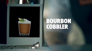 BOURBON COBBLER DRINK RECIPE - HOW TO MIX