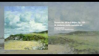 Piano Sonata No. 30 in E Major, Op. 109