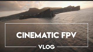 Cinematic FPV Vlog Perce Quebec -- Emerald River Waterfall - Gravel Pit Rip - Mountain Ravine Dive