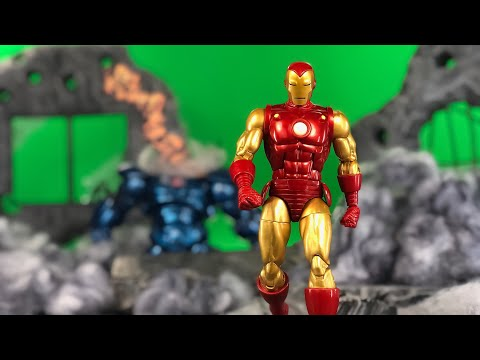 MARVEL LEGENDS IRON MAN 80 YEARS OF MARVEL ACTION FIGURE REVIEW