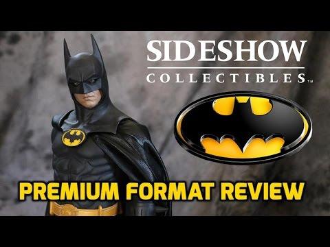 Sideshow's Michael Keaton Batman Premium Format Statue- Collectable Review