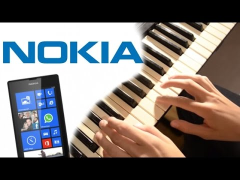Рингтон Nokia на пианино (обучение) / How to play Nokia theme on piano