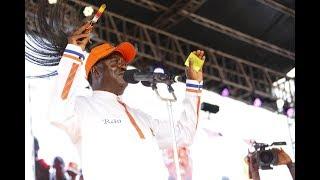 Raila Odinga reveals the number of votes that were allegedly added to Uhuru Kenyatta's tally