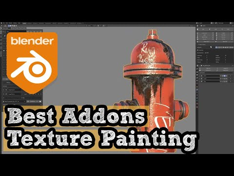 Blender Addon for PBR Texture Painting