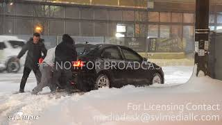 Rochester, MN Heavy Snow impacts travel, snow removal 2-24-19